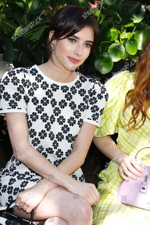 Emma Roberts in the front row