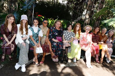 Editorial photo of Kate Spade show, Front Row, Spring Summer 2020, New York Fashion Week, USA - 07 Sep 2019