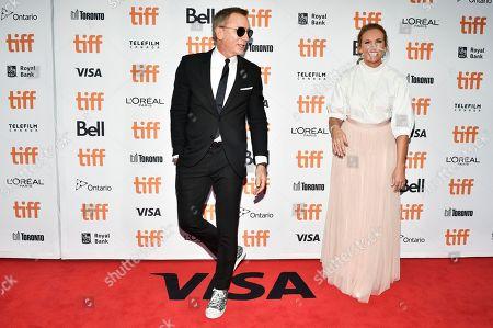 Daniel Craig and Toni Collette