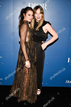 Shailene Woodley and Isidora Goreshter