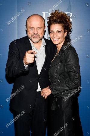 Enrico Colantoni and Rosanna Francioni