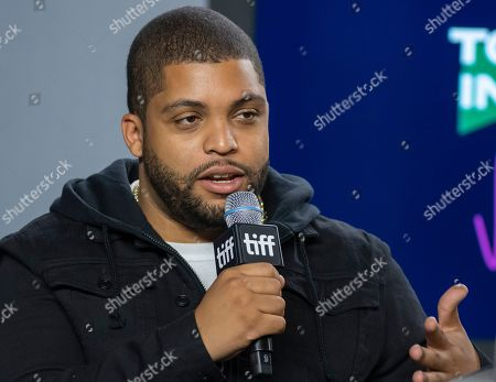 O'Shea Jackson Jr. attends the press conference for the movie 'Just Mercy' during the 44th annual Toronto International Film Festival (TIFF), in Toronto, Canada, 07 September 2019. The festival runs 05 to 15 September.