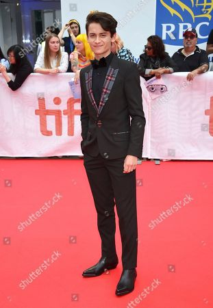 """Tenzing Norgay Trainor attends the premiere of """"Abominable"""" on day three of the Toronto International Film Festival at Roy Thomson Hall, in Toronto"""