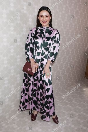 Editorial image of Kate Spade show, Arrivals, Spring Summer 2020, New York Fashion Week, USA - 07 Sep 2019