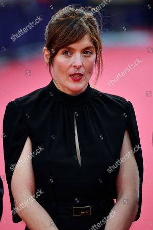 Valerie Donzelli arrives on the red carpet prior to the premiere 'Music of My Life (Blinded by the Light)' during the 45th Deauville American Film Festival, in Deauville, France, 07 September 2019. The festival runs from 06 to 15 September.