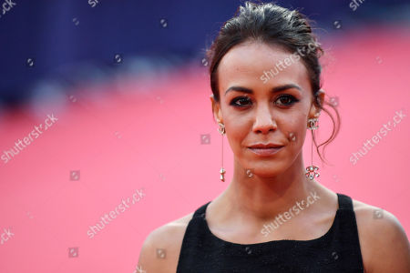 French actress and Revelation Jury members Alice Belaidi arrives on the red carpet prior to the premiere 'Music of My Life (Blinded by the Light)' during the 45th Deauville American Film Festival, in Deauville, France, 07 September 2019. The festival runs from 06 to 15 September.