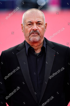 Stock Photo of French director Jean Pierre Jeunet arrives on the red carpet prior to the premiere 'Music of My Life (Blinded by the Light)' during the 45th Deauville American Film Festival, in Deauville, France, 07 September 2019. The festival runs from 06 to 15 September.