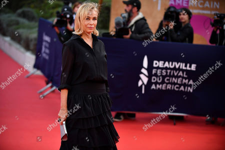 Emmanuelle Beart arrives on the red carpet prior to the premiere 'Music of My Life (Blinded by the Light)' during the 45th Deauville American Film Festival, in Deauville, France, 07 September 2019. The festival runs from 06 to 15 September.