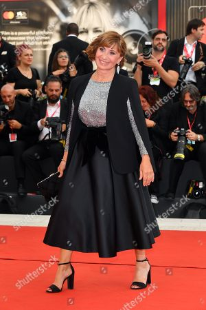 Stock Image of Ariane Ascaride during closing ceremony red carpet