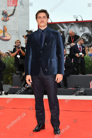 Luca Marinelli during closing ceremony red carpet