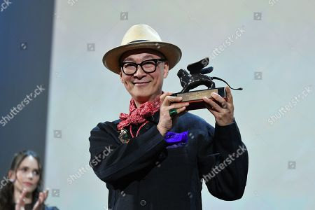 Yonfan, holds the award for Best Screenplay for the film 'No. 7 Cherry Lane