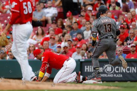 Editorial image of Diamondbacks Reds Baseball, Cincinnati, USA - 07 Sep 2019