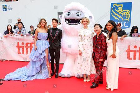 Chloe Bennet, Sherpa Tenzing Norgay Trainor, Michelle Wong, Everest Character, Sarah Paulson, Albert Tsai and Michelle Wong