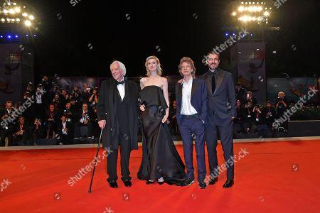 Donald Sutherland, Elizabeth Debicki, Mick Jagger and Claes Bang