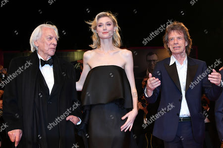 Director Giuseppe Capotondi, Donald Sutherland, Elizabeth Debicki, Mick Jagger and Claes Bang