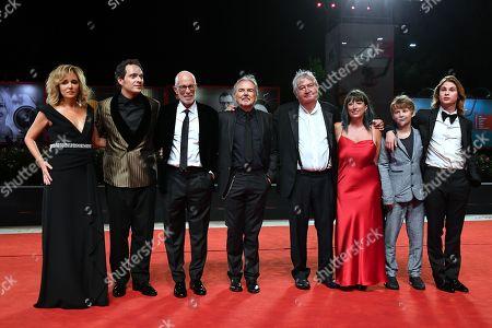 Valeria Golino, Claudio Santamaria, Italian director Gabriele Salvatores, Paolo Del Brocco, Umberto Contarello, Sara Mosetti, Giulio Pranno