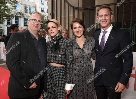 Ted Hope, Kristen Stewart, Julie Rapaport and Matt Newman