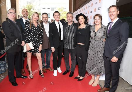 Amazon Studios Head of Motion Picture Production Ted Hope, Producer Fred Berger, Producer Kate Garwood, Producer Bradley Pilz, Brian Kavanaugh Jones, Director Benedict Andrews, Cinematographer Rachel Morrison, and Amazon Studios Co-Heads of Movies Julie Rapaport and Matt Newman