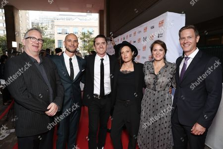Amazon Studios Head of Motion Picture Production Ted Hope, Producer Fred Berger, Brian Kavanaugh Jones, Cinematographer Rachel Morrison, and Amazon Studios Co-Heads of Movies Julie Rapaport and Matt Newman