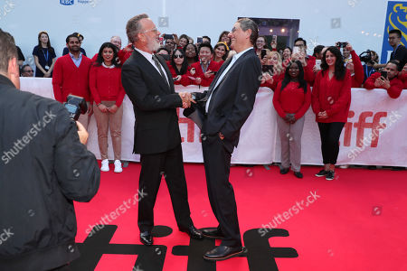 Tom Hanks, Tom Rothman, Chairman of Sony Pictures Entertainment?s Motion Picture Group