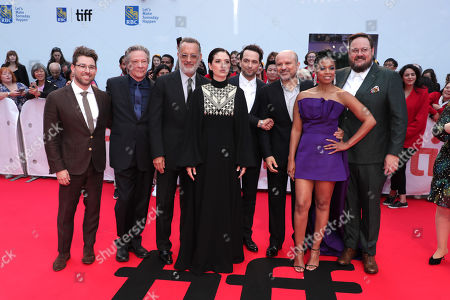 Micah Fitzerman-Blue, Writer/Executive Producer, Chris Cooper, Tom Hanks, Marielle Heller, Director, Matthew Rhys, Enrico Colantoni, Susan Kelechi Watson, Noah Harpster, Writer/Executive Producer