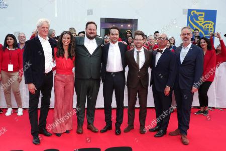 Marc Turtletaub, Producer, Leah Holzer, Producer, Noah Harpster, Writer/Executive Producer, Matthew Rhys, Micah Fitzerman-Blue, Writer/Executive Producer, Youree Henley, Producer, Peter Saraf, Producer