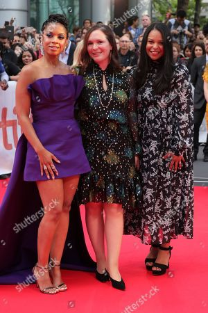 Susan Kelechi Watson, Hannah Minghella, President of TriStar Pictures, Nicole Brown, SVP Film TriStar Pictures