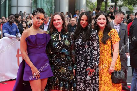 Susan Kelechi Watson, Hannah Minghella, President of TriStar Pictures, Nicole Brown, SVP Film TriStar Pictures, Shary Shirazi