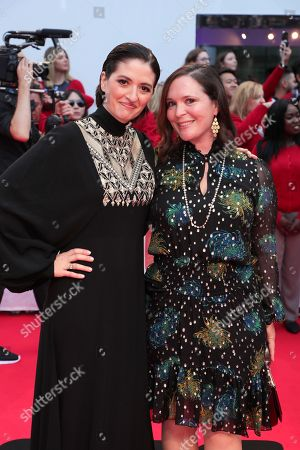 Marielle Heller, Director, Hannah Minghella, President of TriStar Pictures