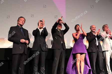 Chris Cooper, Matthew Rhys, Tom Hanks, Susan Kelechi Watson, Enrico Colantoni, Tom Junod