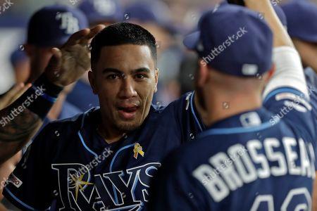 Editorial image of Blue Jays Rays Baseball, St. Petersburg, USA - 07 Sep 2019