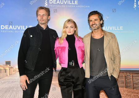 Sophie Turner, Jouri Smit and David Atrakchi