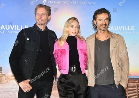 Stock Photo of Sophie Turner, Jouri Smit and David Atrakchi