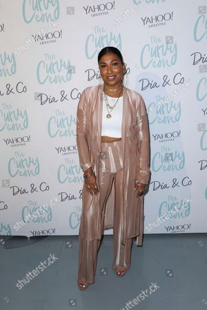 Melanie Fiona poses for a photo at the 5th annual theCURVYcon powered by Dia&Co on in New York