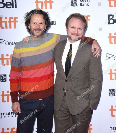 Rian Johnson and Ram Bergman