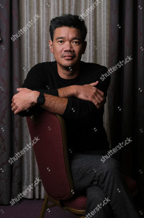 """Destin Cretton, director/co-writer of """"Just Mercy,"""" poses for a portrait at the Fairmont Royal York Hotel during the Toronto International Film Festival, in Toronto"""