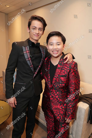 Stock Picture of Sherpa Tenzing Norgay Trainor and Albert Tsai seen at DreamWorks Animation and Pearl Studio present the World Premiere Gala Presentation of ABOMINABLE at the 2019 Toronto International Film Festival on Saturday, September 7, 2019 at Roy Thomson Hall in Toronto, Canada.