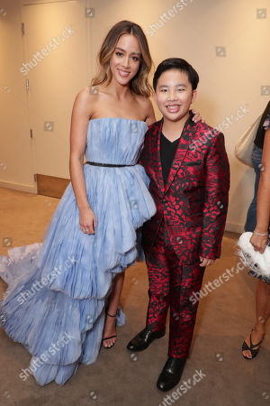 Chloe Bennet and Albert Tsai seen at DreamWorks Animation and Pearl Studio present the World Premiere Gala Presentation of ABOMINABLE at the 2019 Toronto International Film Festival on Saturday, September 7, 2019 at Roy Thomson Hall in Toronto, Canada.
