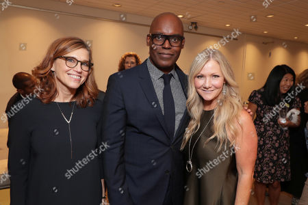 Margie Cohn, President of DreamWorks Animation, Cameron Bailey, Co-Head of TIFF, and Jill Culton, Writer/Co-Director, at DreamWorks Animation and Pearl Studio present the World Premiere Gala Presentation of ABOMINABLE at the 2019 Toronto International Film Festival on Saturday, September 7, 2019 at Roy Thomson Hall in Toronto, Canada.