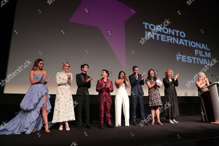 Editorial picture of DreamWorks Animation and Pearl Studio present the World Premiere Gala Presentation of 'Abominable', Arrivals, 2019 Toronto International Film Festival, Roy Thomson Hall, Toronto, Canada - 07 Sep 2019