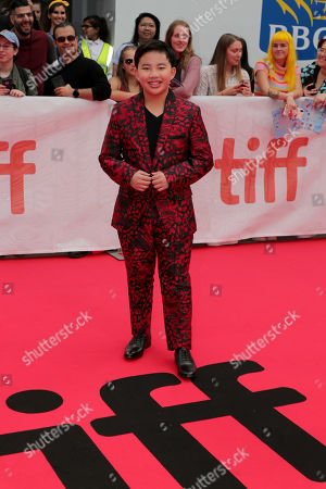 Albert Tsai seen at DreamWorks Animation and Pearl Studio present the World Premiere Gala Presentation of ABOMINABLE at the 2019 Toronto International Film Festival on Saturday, September 7, 2019 at Roy Thomson Hall in Toronto, Canada.