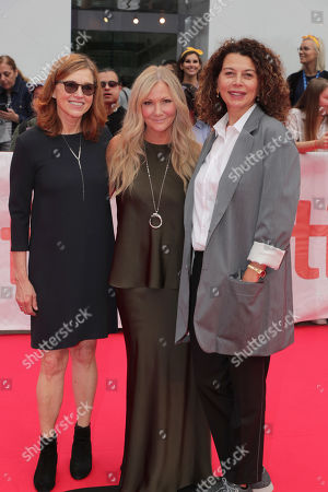 Margie Cohn, President of DreamWorks Animation, Jill Culton, Writer/Director, and Donna Langley, Chairman, Universal Filmed Entertainment Group, seen at DreamWorks Animation and Pearl Studio present the World Premiere Gala Presentation of ABOMINABLE at the 2019 Toronto International Film Festival on Saturday, September 7, 2019 at Roy Thomson Hall in Toronto, Canada.