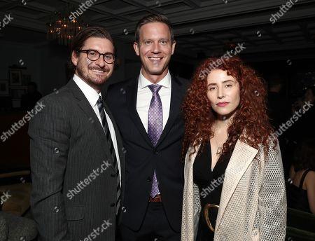 Christopher Leggett, Matt Newman and Alma Har'el