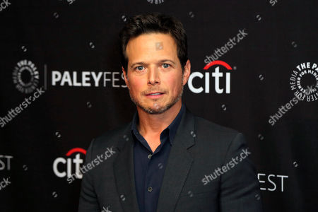 """Scott Wolf attends the """"Nancy Drew"""" screening and panel at the 2019 PaleyFest Fall TV previews at the Paley Center for Media, in Beverly Hills, Calif"""