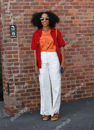 Editorial image of Street Style, Spring Summer 2020, New York Fashion Week, USA - 07 Sep 2019