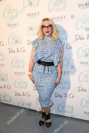 Jenn Lyon poses for a photo at the 5th annual theCURVYcon powered by Dia&Co on in New York