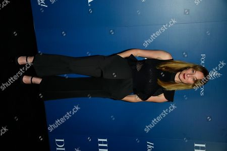Isidora Goreshter attends The Hollywood Foreign Press Association and The Hollywood Reporter's Toronto International Film Festival party on day three of TIFF at the Four Seasons Hotel, in Toronto