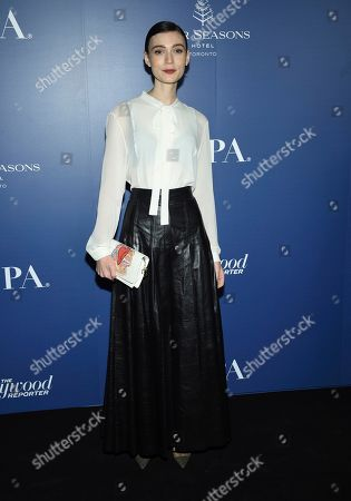 Tilda Cobham-Hervey attends The Hollywood Foreign Press Association and The Hollywood Reporter's Toronto International Film Festival party on day three of TIFF at the Four Seasons Hotel, in Toronto