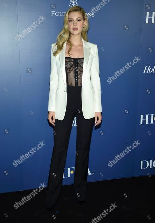 Nicola Peltz attends The Hollywood Foreign Press Association and The Hollywood Reporter's Toronto International Film Festival party on day three of TIFF at the Four Seasons Hotel, in Toronto