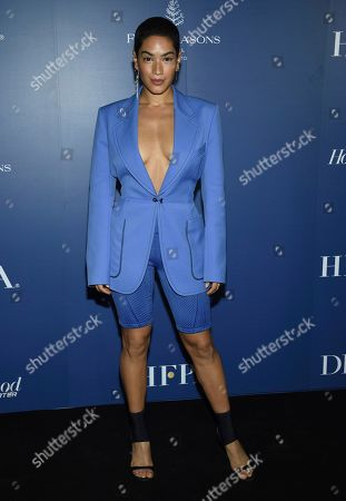 Mette Towley attends The Hollywood Foreign Press Association and The Hollywood Reporter's Toronto International Film Festival party on day three of TIFF at the Four Seasons Hotel, in Toronto